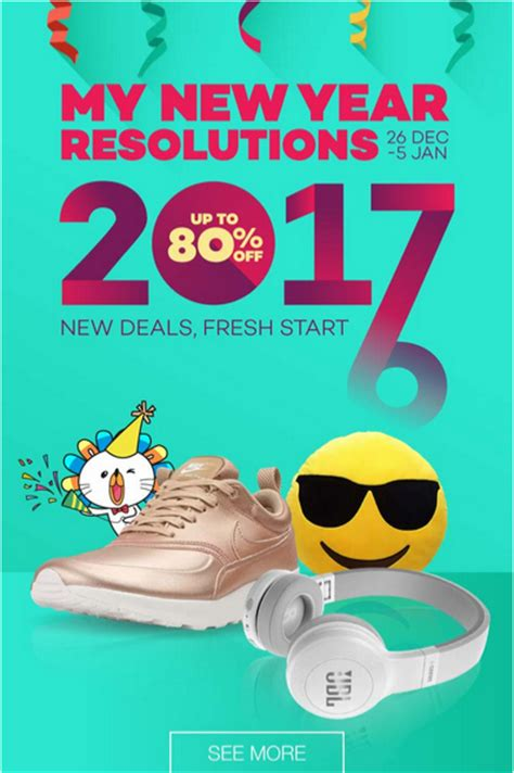 new year malaysia sale lazada happy new year 2017 sale up to 80 it