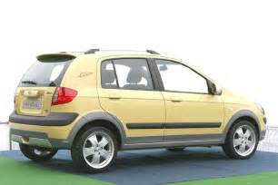 hyundai getz cross technical details history photos on
