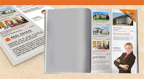 real estate property listing template real estate property listing indesign flyer