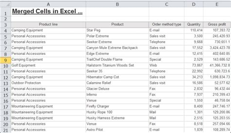 Excel 2007 Data Format In Cognos   how to unmerge merged cells in excel 2007 shortcut to