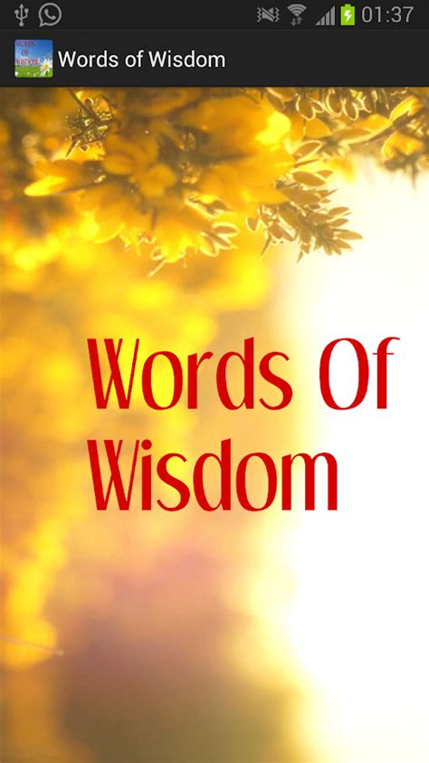 The Wisdom Of Some by Words Of Wisdom Android Apps On Play