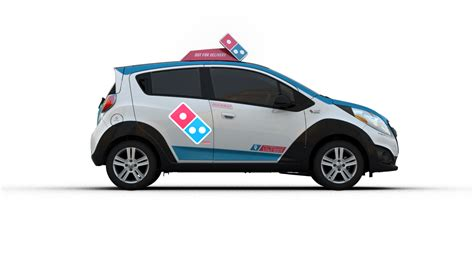Pizza Auto by Domino S Just Unveiled A Radical Pizza Delivery Car That