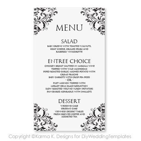dining menu template free 14 best images about dining on