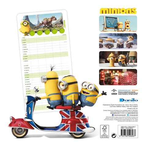 minion desk calendar 2018 minions calendars 2018 on europosters