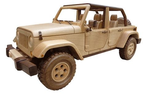 Wooden Jeep Wooden Trains Friendly Woodworking Projects