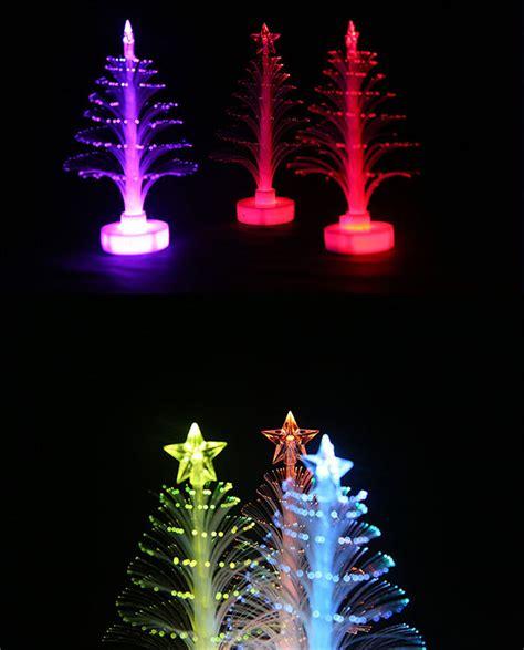 desktop twinkling tree decoration dropshipping for 1pcs 12cm multi color twinkle led desktop paster