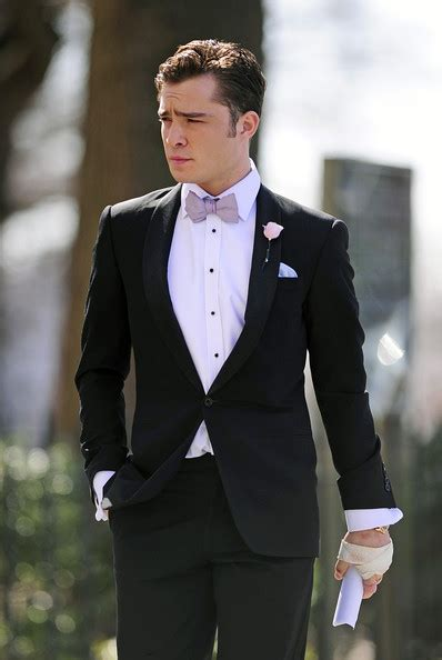 Chuck Bass Hairstyle by More Pics Of Ed Westwick S Suit 1 Of 5 Ed Westwick