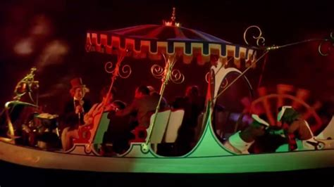 willy wonka boat scene willy wonka 1971 tunnel scene to la valse by ravel youtube