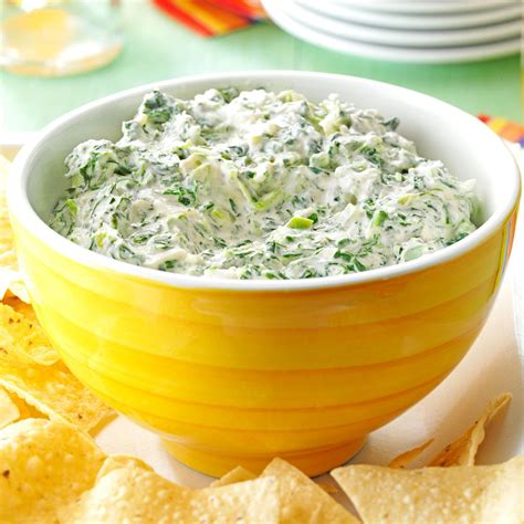 jalapeno spinach dip recipe taste of home