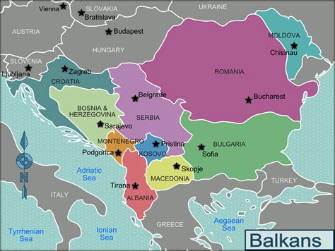 balkans map file balkans regions map png
