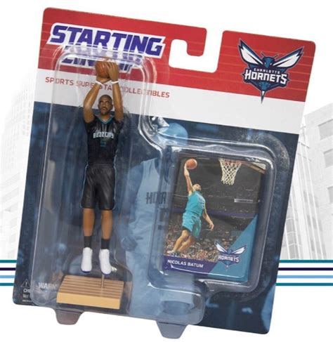 Charlotte Hornets Giveaway 2017 - starting lineup sga collection