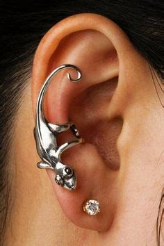 gecko tattoo behind ear jewelry on pinterest body piercing opals and plugs