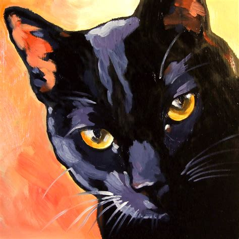 paint like cat paintings from the the witch s cat original