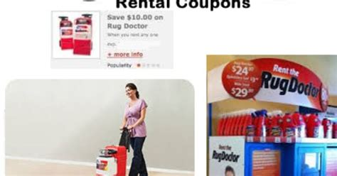 The Rug House Discount Code by Rug Doctor Rental Printable Coupons