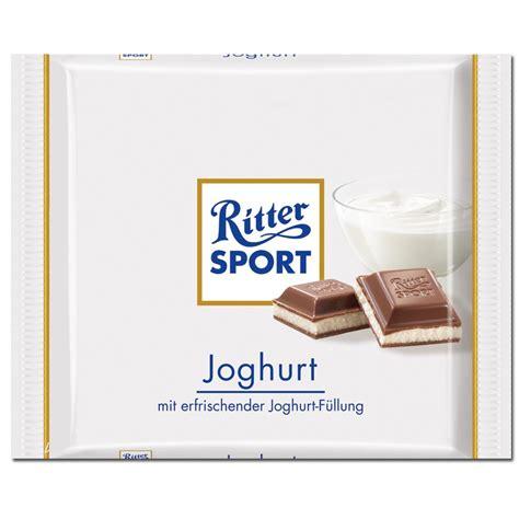 ritter sport tafel ritter sport joghurt schokolade 5 tafeln schokolade