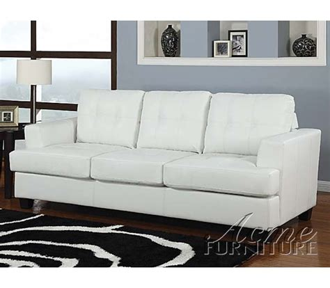 White Leather Sleeper Sofa by Beautiful White Leather Sleeper Sofa 2 Home 187