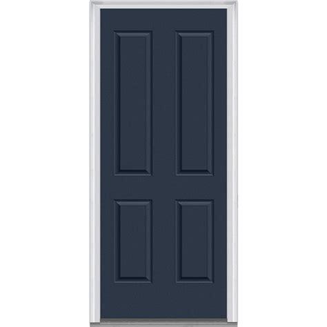 Prehung Steel Exterior Door Doorbuild Exterior Panel Collection Steel Prehung Entry Door Naval 36 Quot X80 Quot 4 Panel Steel
