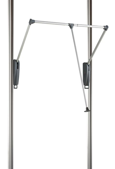 wardrobe rails and fittings b q spacepro relax silver pull hanger bar w 1160mm