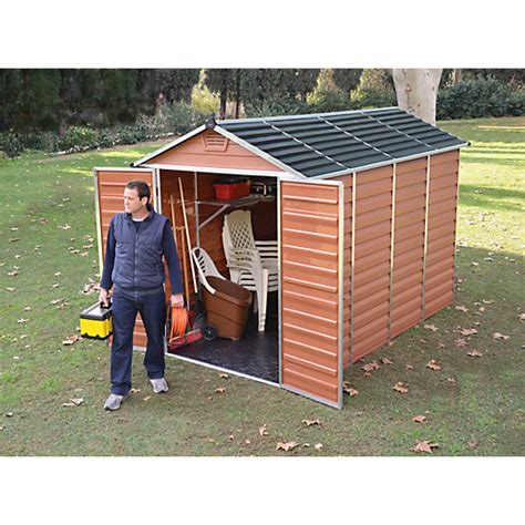 Wickes Shed Paint by Palram Skylight Shed 6x10 Wickes Co Uk