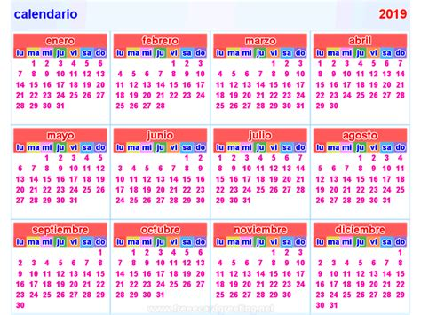 calendario    calendar printable  holidays list