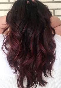 chocolate cherry hair color pictures best 25 chocolate cherry hair ideas on