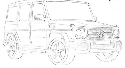 G Wagon Sketches by Wie Helice Schritt F 252 R Schritt Zeichnen Zeichnen
