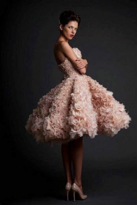 brautkleid rosa kurz rosa brautkleid f 252 r einen 246 sen hochzeits look