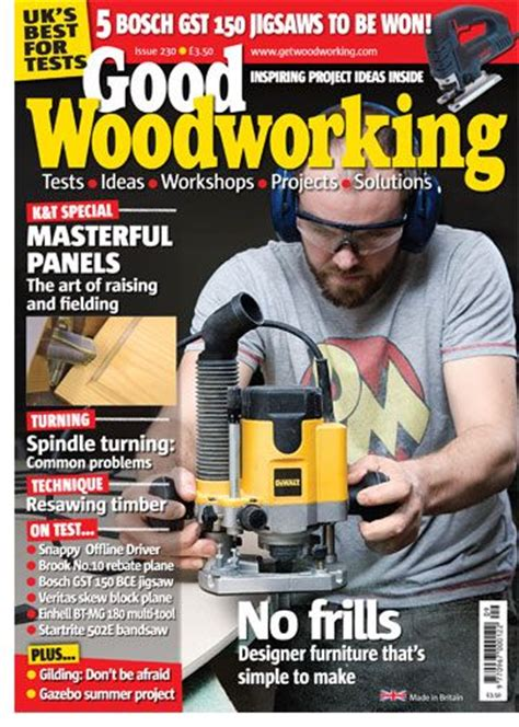 good woodworking magazine magazines
