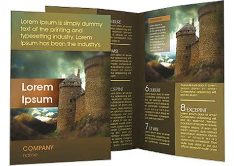 wedding brochure castle castle brochure template design id 0000001444