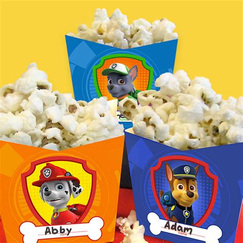 Paw Patrol Pop Up Card Template by Paw Patrol Pupcorn Holders Craft Nickelodeon Parents