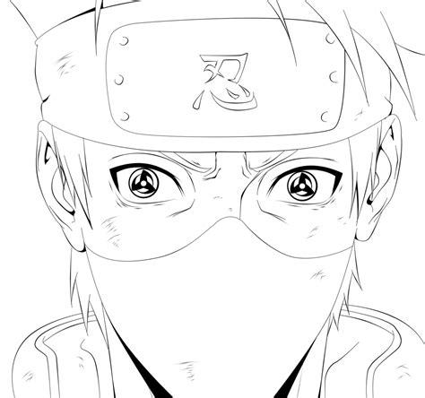 naruto coloring pages kakashi cool naruto sasuke coloring pages printable printable
