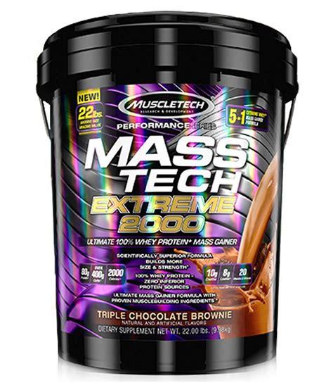 Mass Tech 22lbs Masstech 22lbs Muscletech Muscletech Nutrition Masstech 22lbs 12kg