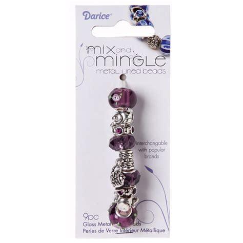 mix and mingle tea themed bead set