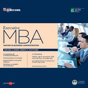 Is Executive Mba Time Or Part Time by Executive Mba Part Time Meeting Orientamento