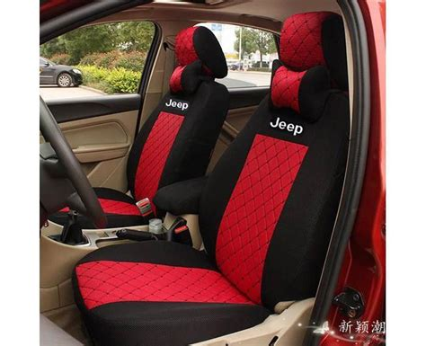 Rugged Ridge Jeep Seats Red And Black Jeep Wrangler Seat Covers Velcromag