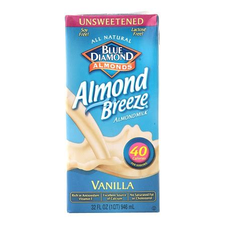 From The Supermarket Almond by Blue Almond Unsweetened Almond Milk Vanilla