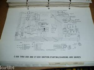 ford truck    ct series wiring diagram sheet service manual ebay