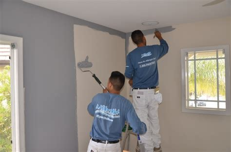cost of painting interior of home what does it cost to paint the inside of my home in los angeles area allbright 1 800 painting