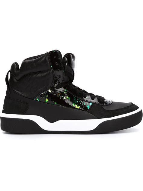 mcqueen x mcq brace mid sneakers in black for lyst