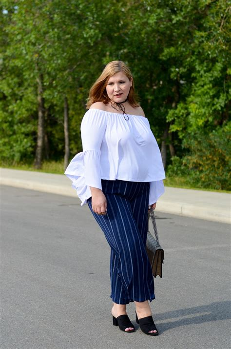 shoulder top and stripes favourite summer trends march and may