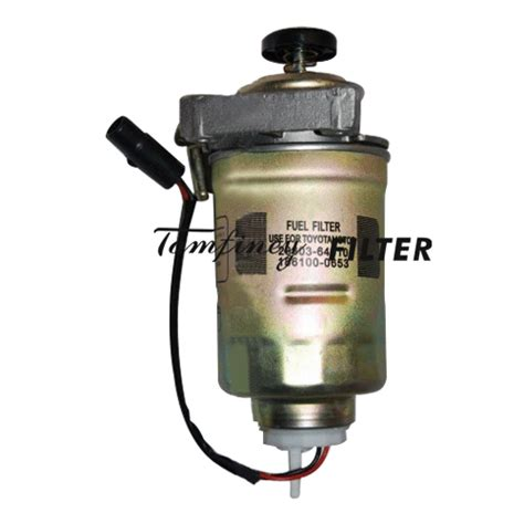 Fuel Filter 23390 64480 Toyota toyota fuel water separator 23303 56040 23303 64010 23390 30150 23390 64480 186100 5830