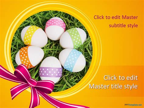 easter powerpoint templates free easter ppt template