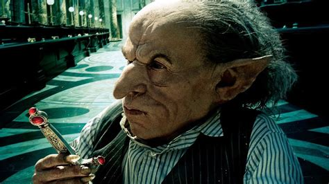 actor who plays goblin in harry potter 191 son los duendes banqueros de harry potter forocoches