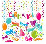 Fondo De Carnaval Cartoon  Vector Clipart