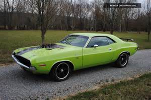 1970 dodge challenger r t 440 six pack 4 speed recreation