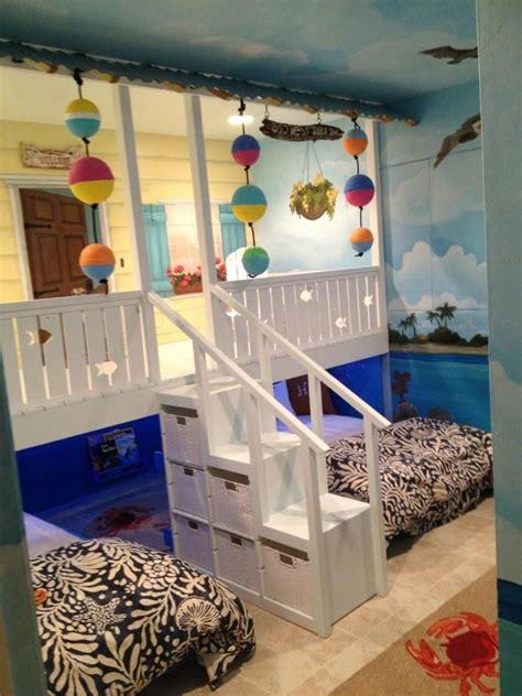 surf inspired bedroom soothing beachy bedrooms coastal h o w c u t e we had a custom bedroom beach shack built