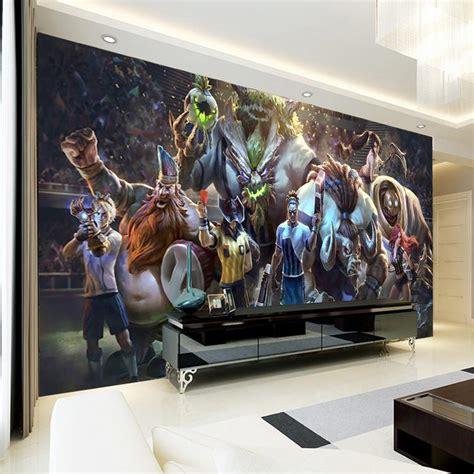 Retro Gaming Bedroom Wallpaper 3d wall mural league of legends photo wallpaper