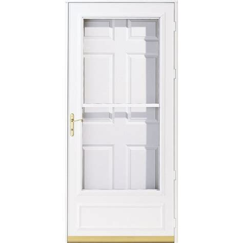 Mobile Home Exterior Doors Lowes Shop Masonite 2 Panel Insulating 9 Lite Right Exterior Doors Lowes Or Home Depot