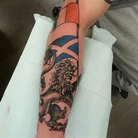 30 scottish lion tattoo design ideas 2018