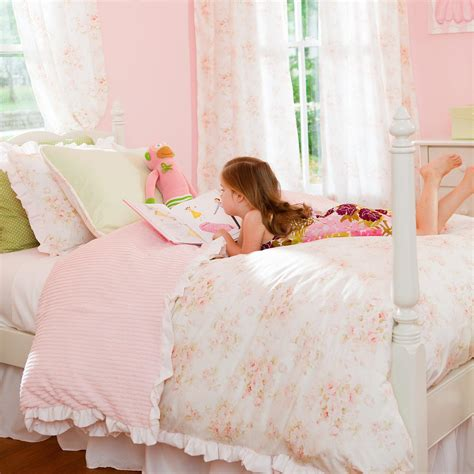 little girl comforters shabby chenille kids bedding little girl s kids bedding